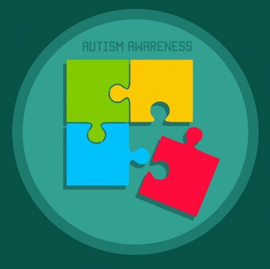 jigsaw puzzle diagram on autism awareness